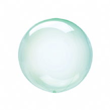 "Crystal Clearz Petite Balloon - Green Crystal Clearz Petite  (12"") 1pc"